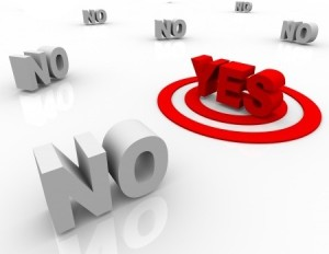 """THE MEANING OF """"NO"""" — Is It Really the Worst Thing a Donor Can Say?"""